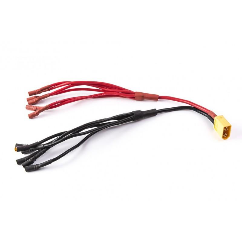 Cable distribución 6 a 1