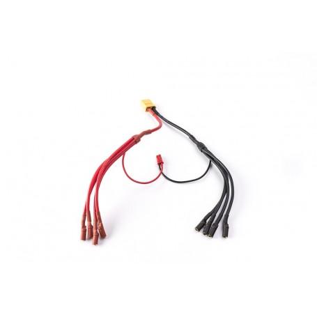 Cable distribución 4 a 1