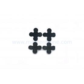 Almohadillas anti-vibración de gel de sílice 1.5 mm de grosor para motores de 22/23