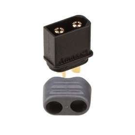 Connector Amass XT60H-M male negro