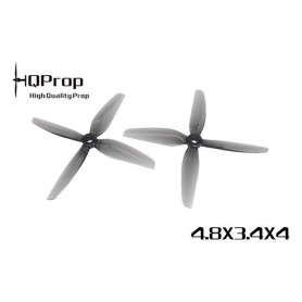 HQProp Durable Prop 4.8X3.4X4 Grey - Poly Carbonate