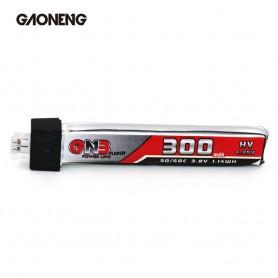 Gaoneng 1S 300mah 3.8V HV LiHV 30C 60c (conector JST-PH2.0)