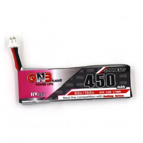 Gaoneng 1S 3.8v HV 450mah 80C  (JST-PH2.0 connector)
