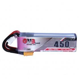 Gaoneng 2S 450mAh 7.6V 80C HV XT30