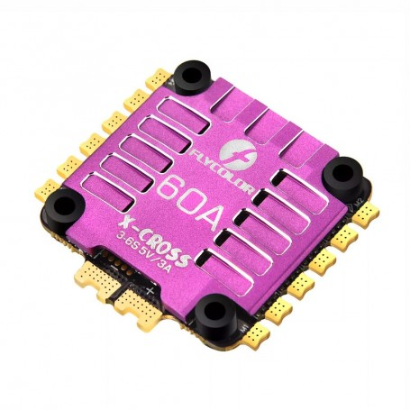 Flycolor X-Cross 60A 3-6S BLHeli32 4-in-1 ESC