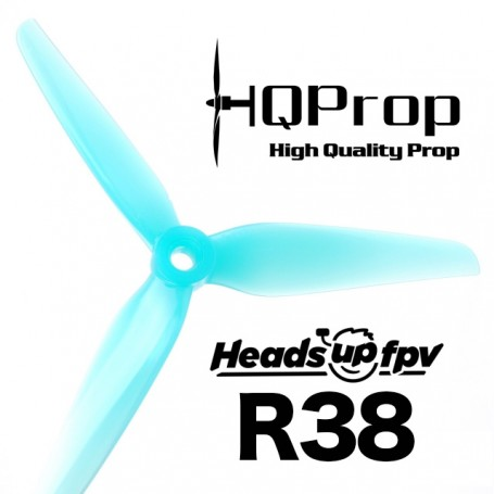 HQProp HeadsUp Racing Prop R38 - Poly Carbonate