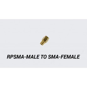 RPSMA-Male to SMA-Female Adapter