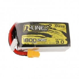 Tattu R-Line Version 3.0 1800mAh 14.8V 120C 4S1P