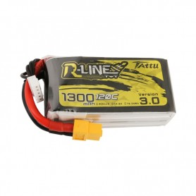 Tattu R-Line Version 3.0 1300mAh 14.8V 120C 4S1P