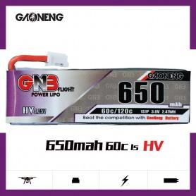 Gaoneng 1S HV 650mah 60C PH2.0