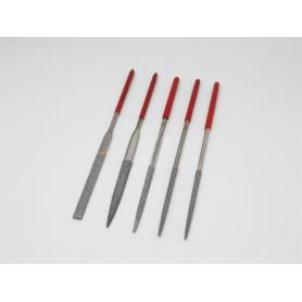5 x Metal Needle Files