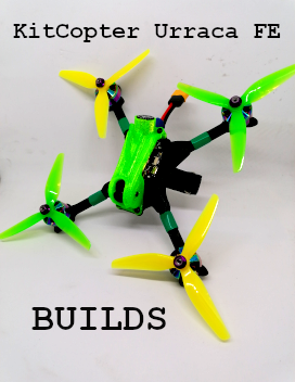 KitCopter Urraca FE build 1